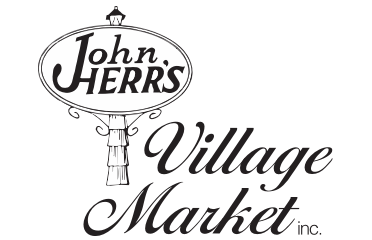 A theme logo of John Herr's Village Market